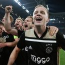 Donny van de Beek happy to be linked with Man Utd as he admits he is open to Premier League transfer from Ajax