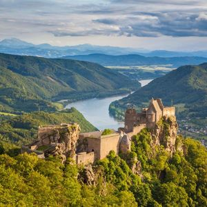 Cruising along the meandering Danube River offers the best views in Europe