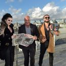 WWE stars Kurt Angle, Paige, Cain Velasquez and Andrade Almas take over SunSport as BT Sport wrestle TV rights from Sky