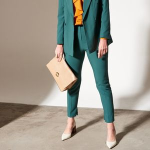 Beat the cold while showing your flare in statement trousers that'll suit any look