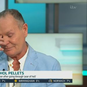 Paul Gascoigne breaks down in tears as he reveals Christmas booze relapse despite £20k anti-alcohol pellets in groin