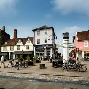 It's easy to see why Charles Dickens liked Bury St Edmunds so much