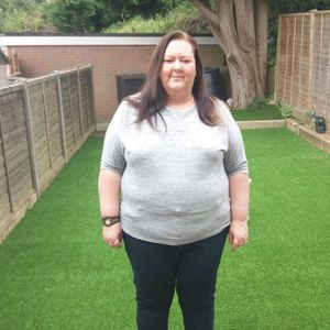 Weight loss: I was a size 24 but lost 10 stone to halve my body weight in a YEAR after I couldn't fit into my plane seat