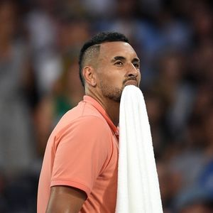 Nick Kyrgios brands umpire 'stupid' in furious row over handing bloodied towel to ballboy as he sets up Nadal clash
