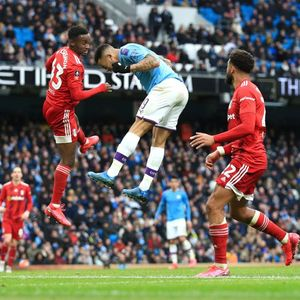 Man City 4 Fulham 0: Jesus nets quickfire double against Fulham who have Ream sent off after six minutes