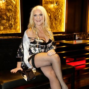 Vanessa Feltz plays DJ set in her lingerie at top London club after The Sun boosted her confidence