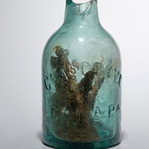 Civil War-era 'witch bottle' filled with broken nails to ward off 'evil spells' found in Virginia