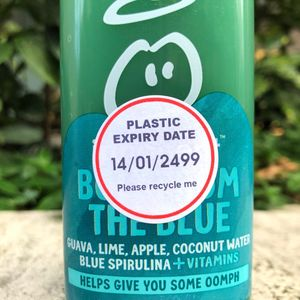 Plastic expiry date stickers appearing on thousands of supermarket products