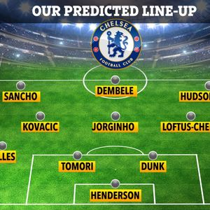 How Chelsea could line up next season with Dembele, Henderson, Sancho and Alex Telles in dramatic team overhaul