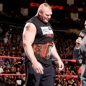 WWE champ Brock Lesnar WON'T ever make wrestling's Mount Rushmore alongside Ric Flair and The Rock, explains Kurt Angle
