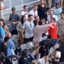 Fans throw punches in ugly brawl before Kyrgios v Khachanov match at Australian Open