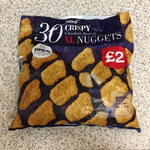 Iceland shoppers rave about the supermarket's £2 nuggets 'that taste just like McDonald's'