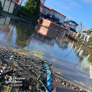 Drayton Manor to remain closed for the rest of the month due to Storm Dennis flooding