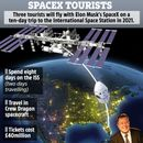 Elon Musk sending three 'space tourists' on 10-day holiday to the ISS next year