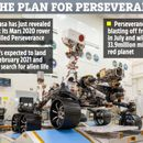 Nasa reveals plan to send new Perseverance rover to hunt for alien life on Mars this year