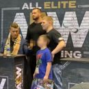 AEW star MJF sticks middle finger up at kid, 7, and says 'f*** them kids' as he refuses to break 'heel' character