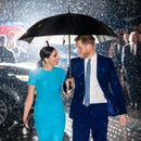 'Adoring' Meghan Markle & Prince Harry show 'honeymoon' affection at first post-Megxit event, says body language expert