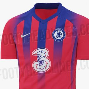 Chelsea's third kit for 2020-21 leaked – and it looks just like Crystal Palace's home strip