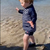 Gordon Ramsay brutally ignored by lookalike son Oscar as he tries to get tot's attention on Cornwall beach