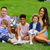 Katie Price's ex Kieran Hayler looks loved up with his fiancée Michelle and children Bunny and Jett on a picnic