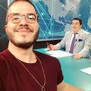 Фото | Нов визуелен идентитет на ТВ 24 – студијата и шпиците