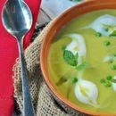 Рецепт на денот: Крем-супа од грашок и целер