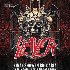 Вижте тв рекламата за последния концерт на SLAYER в България