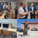 Comtrade donates 16 notebooks to Medical High School in Serb enclave Gracanica in Kosovo (PHOTO)