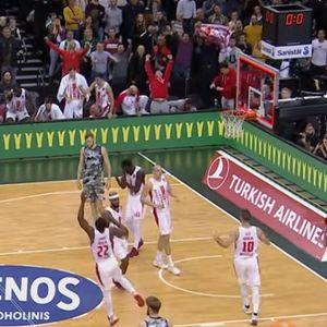 Pojavio se video Zvezdine drame: Pogledajte kako su crveno-beli srušili Žalgiris u poslednjem minutu