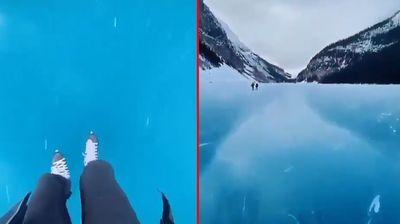Najlepše klizalište ove zime nalazi se u planinama zapadne Kanade