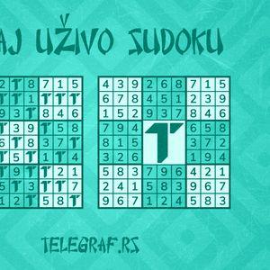 Sudoku za ponedeljak 25.5.2020.
