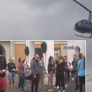 Zadrugari nisu skidali pogleda sa letelice: Helikopter nadletao nad imanjem, evo i zašto