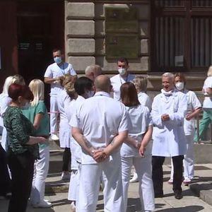 Lekari štrajkuju u Sarajevu, traže veće plate
