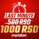 Iskoristi jedinstvenu priliku - Samo ovog vikenda od Meridiana te čeka 1000 RSD na poklon!
