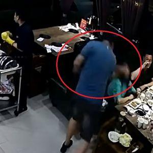 Muž napravio scenu u restoranu: Nokautirao suprugu jer je sedela s dvojicom muškaraca