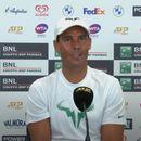 Nadal nije mogao da iskontroliše smeh dok je pričao o diskvalifikaciji Novaka na konferenciji