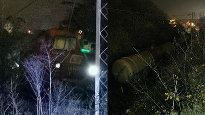 Šta se desilo u Resniku? Fotografije sa mesta nesreće gde je izleteo voz pun amonijaka