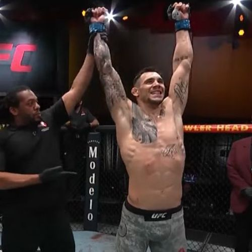 Velika pobeda Aleksandra Rakića, ukrotio je brazilsku zver: Srbin upisao trijumf karijere u UFC-u!