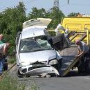Prve slike nesreće na pruzi kod Šapca: Auto na koji je naleteo voz potpuno smrskan, preminuo vozač