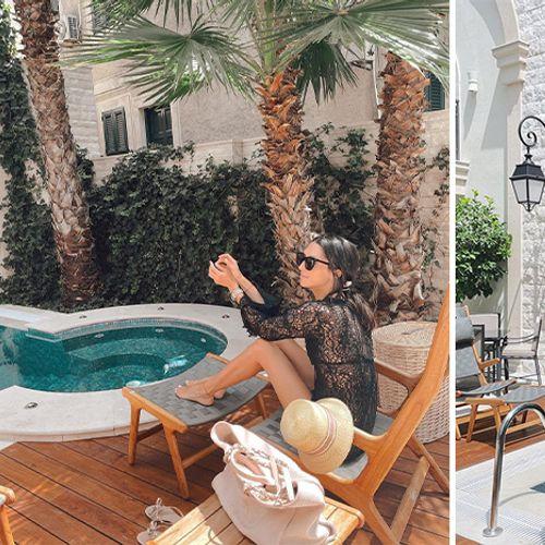 """""""Ovo je raj na zeljmlji"""": Jelisaveta Orašanin u providnoj čipki pokazala luksuz u kom se baškari"""