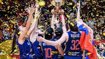Košarkašice Srbije na krovu Evrope