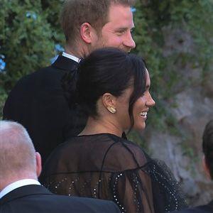 Меган Маркл на свадба се појави во проѕирен фустан