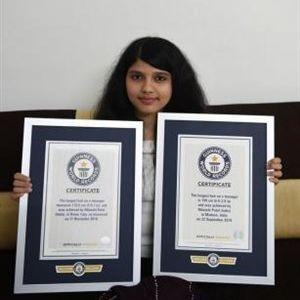 Тинејџерка не ја шишала 11. години, го соборила и сопствениот рекорд