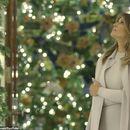 (ГАЛЕРИЈА) Магично: Меланија Трамп ја укрaси Белата куќа во духот на Америка
