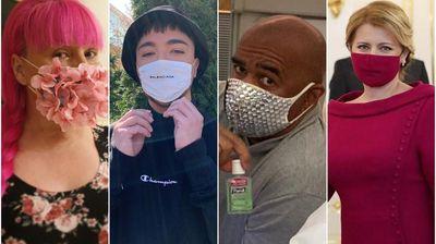 Од српски пејачи до светски ѕвезди и политичари: Модерни маски во доба на коронавирус