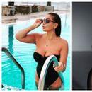 Едната облечена во базен, другата соблечена на улица: Лила и Наташа Беквалац позираат во бело