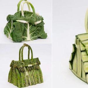Ермес повторно оригинален: Претстави нова серија чанти Биркин, ама од зеленчук