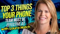 Listen to Top 3 Things Your Phone Team MUST Be Effective At with Laura Hatch