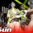 Тепачка на изборот за најубав бразилски задник Мис Бум Бум