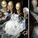 Запленета марихуана и кокаин во реплики на трофејот на Мундијалот (ВИДЕО)